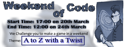 Weekend of Code #3: A to Z with a Twist